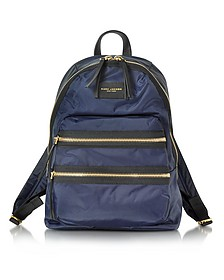Midnight Blue Nylon Biker Backpack - Marc Jacobs