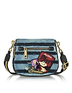 Marc Jacobs Small Nomad Borsa in Denim con Tracolla - marc jacobs - it.forzieri.com