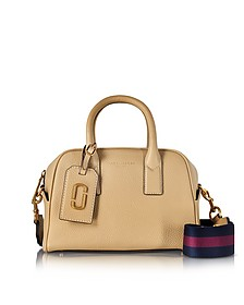 Gotham Sand Leather Small Bauletto - Marc Jacobs