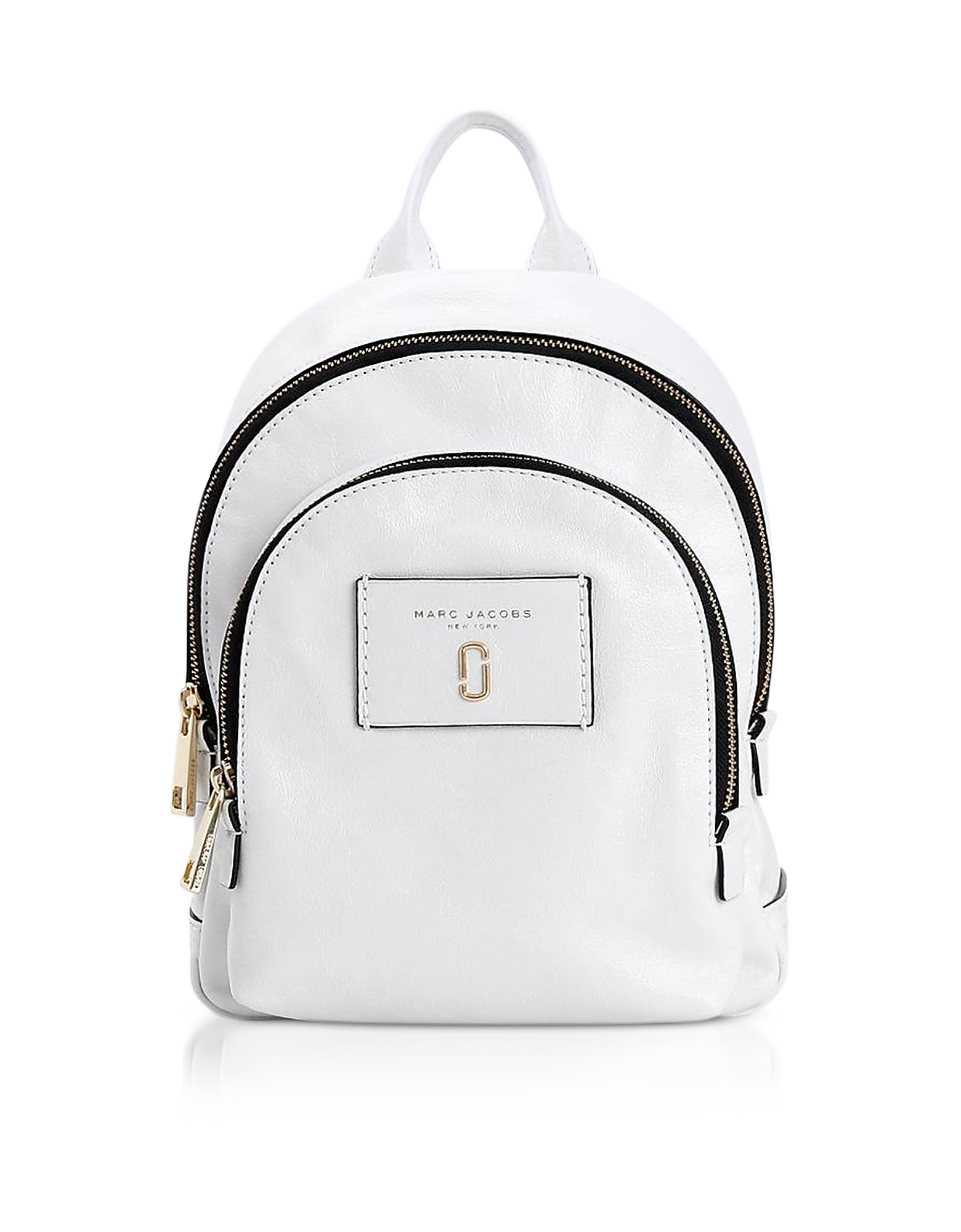 Marc Jacobs Handbags, Glossy Leather Mini Double Backpack