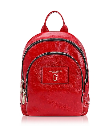 Glossy Leather Mini Double Backpack jc130118-018-03