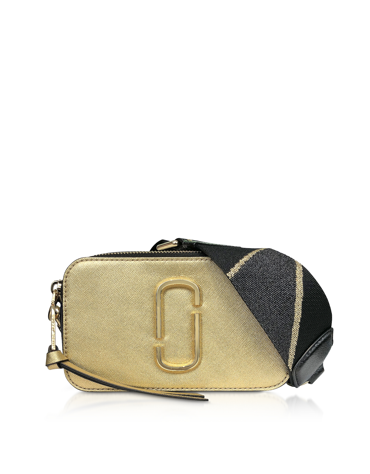 Marc Jacobs Handbags, Logo Strap Snapshot Metallic Camera Bag