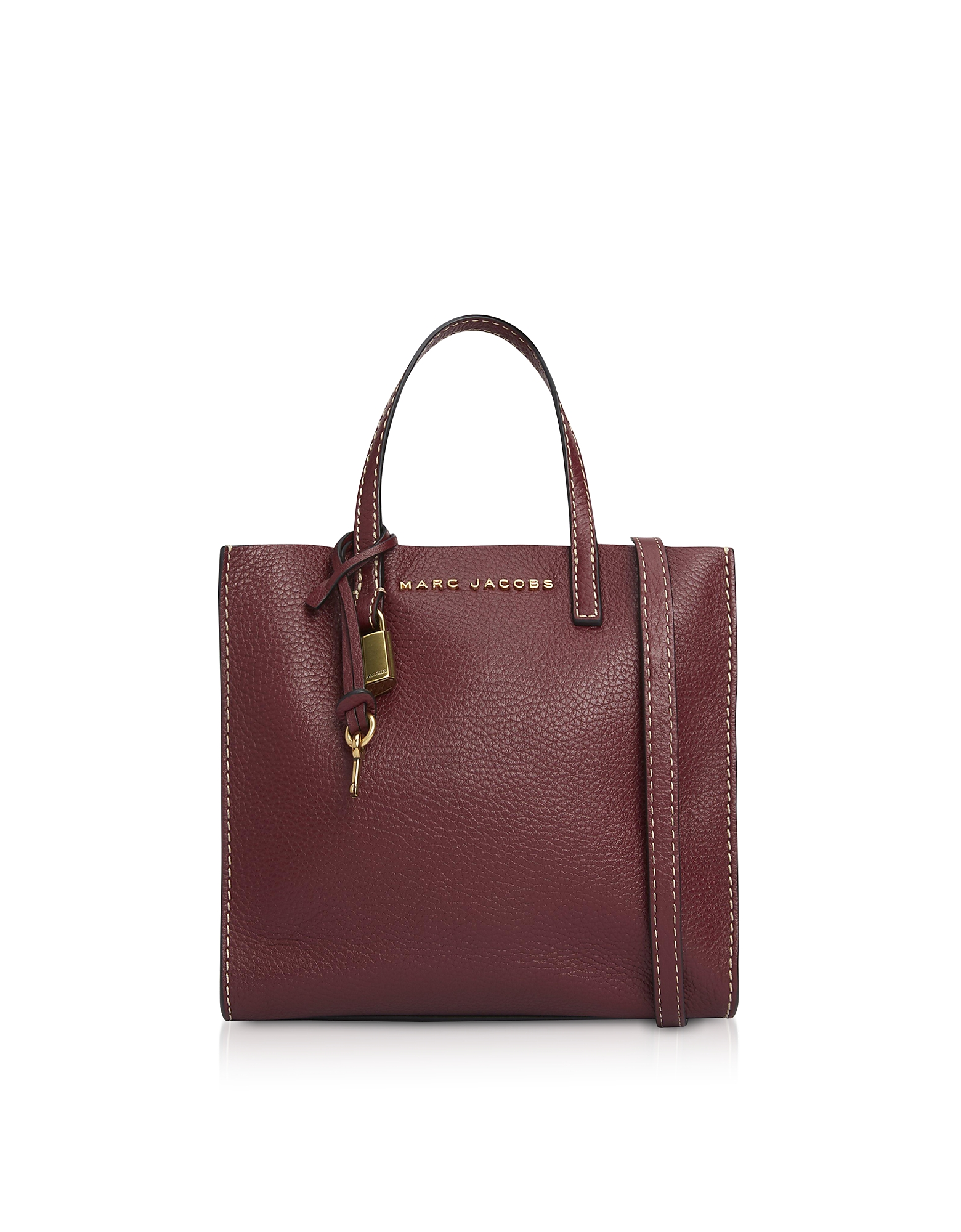 Marc Jacobs Handbags, Grainy Leather The Mini Grind Tote Bag
