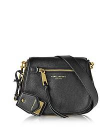 Recruit Satteltasche aus schwarzem Leder - Marc Jacobs