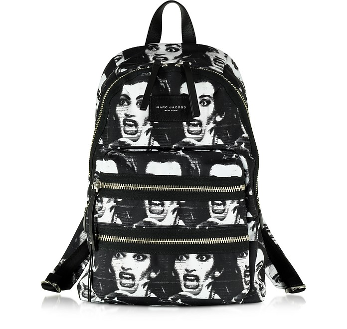 Maria Callas Printed Biker Backpack - Marc Jacobs