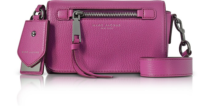 Recruit Grainy Leather Crossbody Bag - Marc Jacobs