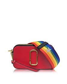 Snapshot Shocking Pink Multi Leather Camera Bag w/Shoulder Strap - Marc Jacobs
