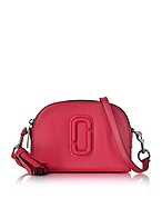 Marc Jacobs Shutter Camera Bag in Pelle Rosa Shocking con Tracolla Fucsia- marc jacobs - it.forzieri.com