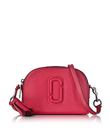 Shutter Shocking Pink Grainy Leather Small Camera Bag - Marc Jacobs
