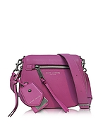 Marc Jacobs Recruit Small Borsa con Tracolla in Pelle Lilac - marc jacobs - it.forzieri.com