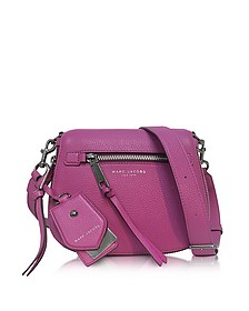 Recruit Lilac Leather Small Saddle Bag - Marc Jacobs