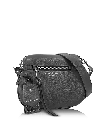 Marc Jacobs - Recruit Shadow Leather Small Saddle Bag
