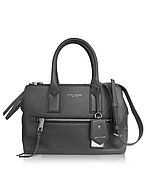 Marc Jacobs Bauletto Recruit East West in Pelle Shadow - marc jacobs - it.forzieri.com