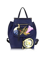 Marc Jacobs Trooper Zaino Blu in Nylon con Patches - marc jacobs - it.forzieri.com