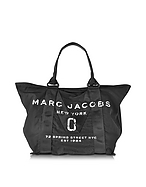 Marc Jacobs New Logo Shopper in Cotone Nero Logato - marc jacobs - it.forzieri.com