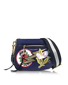 Navy Multi Nylon Patchwork Small Nomad - Marc Jacobs