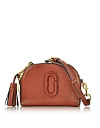 Marc Jacobs Shutter Camera Bag in Pelle Copper con Tracolla - marc jacobs - it.forzieri.com