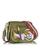 Military Green Multi Nylon Patchwork Small Nomad Shoulder Bag - Marc Jacobs