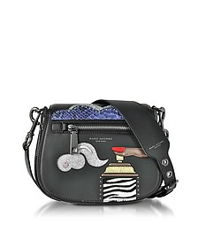 Black Leather Verhoeven Small Nomad Shoulder Bag - Marc Jacobs