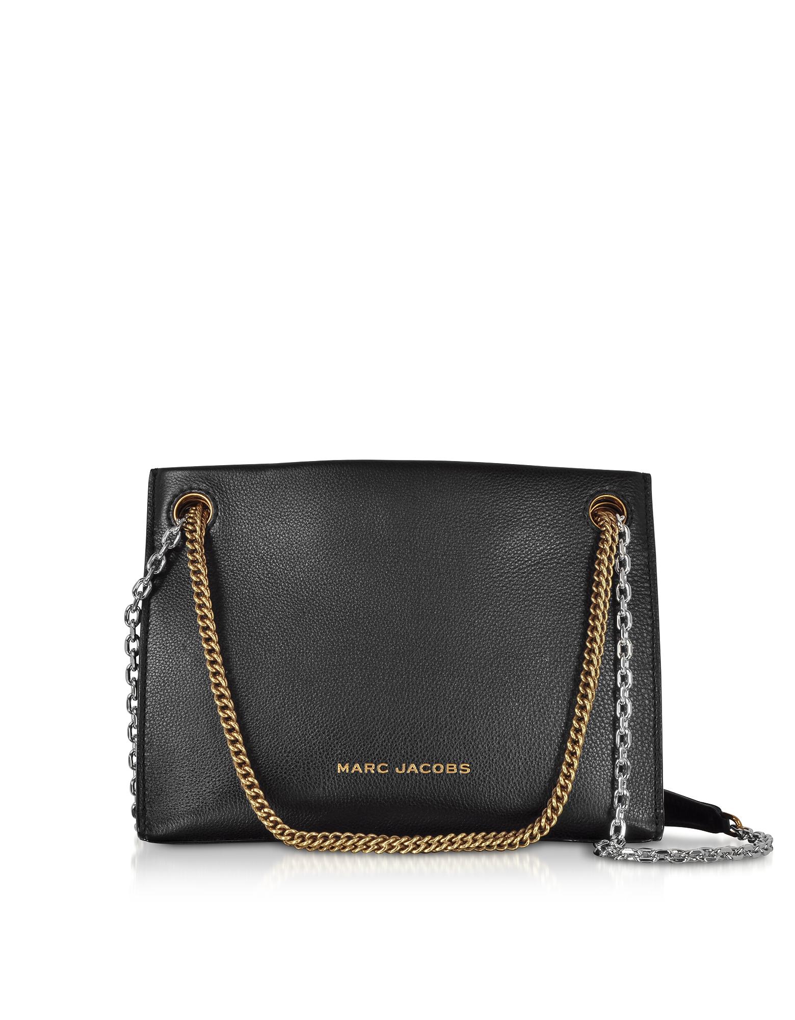 Double Link 27 Leather Shoulder Bag