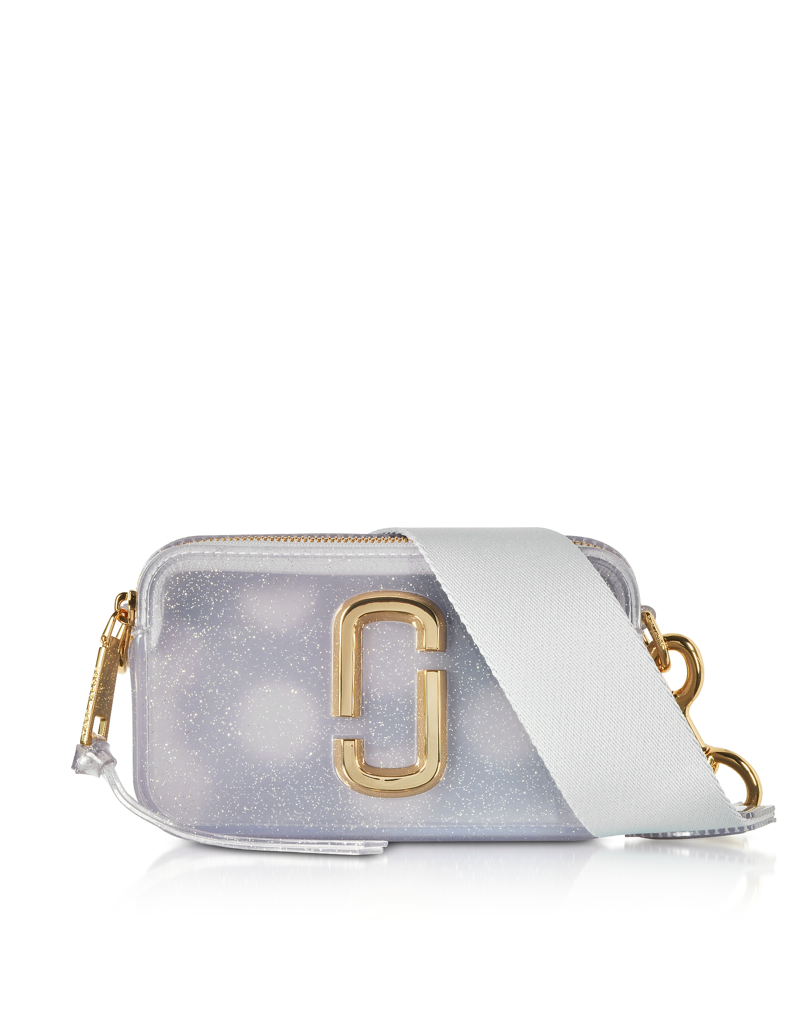 Jelly Glitter Snapshot Small Camera Bag