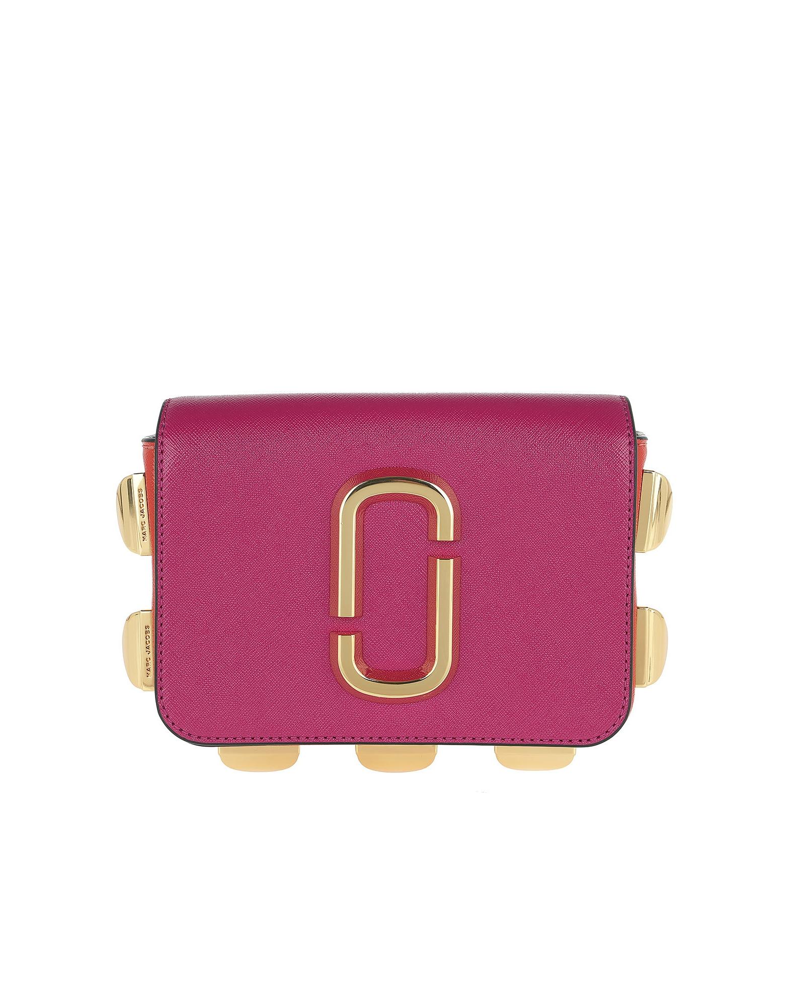 Hip Shot Belt Bag Studs Magenta/Multi