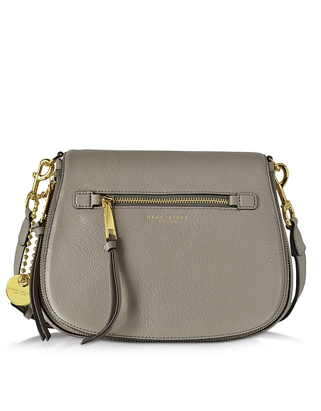 Foto Marc Jacobs Recruit Borsa in Pelle Mink con Tracolla Borse donna