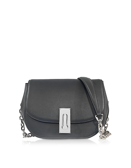 Foto Marc Jacobs West End The Jane Borsa con Tracolla in Pelle Antracite Borse donna