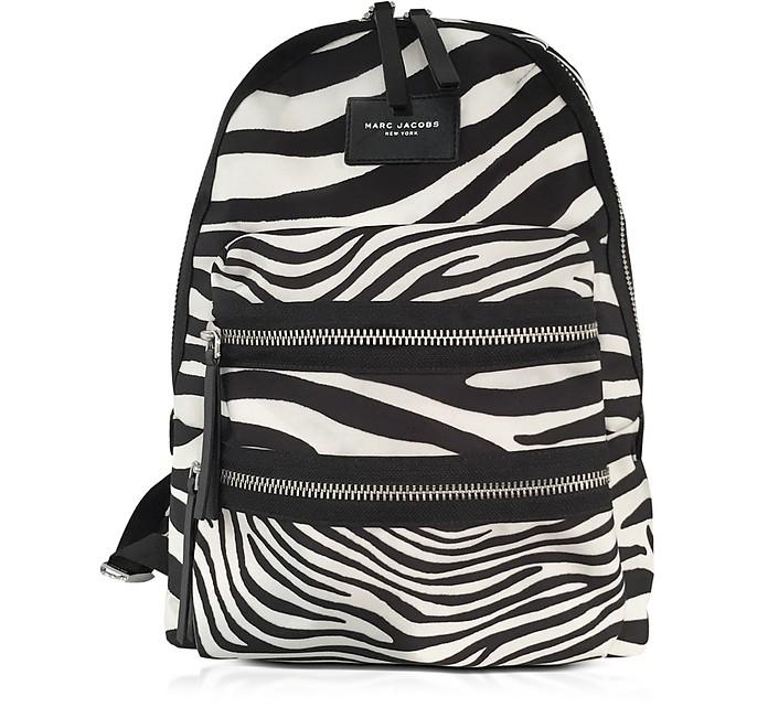 Zebra Printed Biker Backpack - Marc Jacobs
