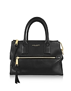 Marc Jacobs Recruit East West Black Bauletto in Pelle Nera - marc jacobs - it.forzieri.com