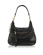 Marc Jacobs Recruit Borsa in Pelle Nera con Logo - marc jacobs - it.forzieri.com