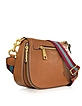 Gotham City Maple Tan Leather Saddle Bag - Marc Jacobs