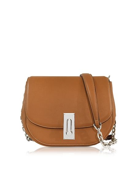 Foto Marc Jacobs West End Jane Borsa con Tracolla in Pelle Cognac Borse donna