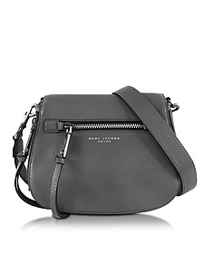 Recruit Shadow Leather Saddle Bag - Marc Jacobs