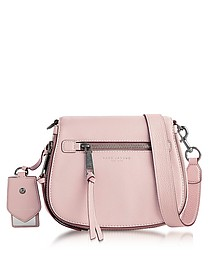Recruit Pale Lilac Small Saddle Bag - Marc Jacobs