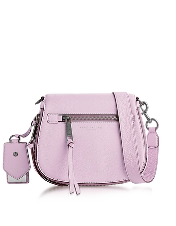 Marc Jacobs - Recruit Pale Lilac Small Saddle Bag