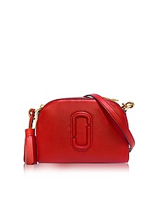 Shutter Lava Red Leather Small Camera Bag - Marc Jacobs