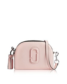 Shutter Pale Pink Leather Small Camera Bag - Marc Jacobs