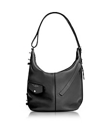 The Sling Black Leather Shoulder Bag - Marc Jacobs