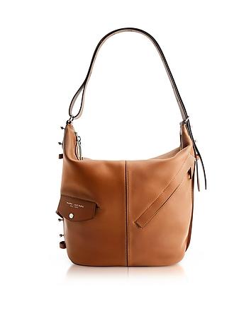 Marc Jacobs - The Sling Oak Leather Shoulder Bag