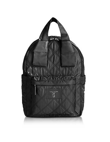 Marc Jacobs - Black Nylon Knot Backpack