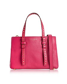 Hibiscus Leather Mini T Studded Tote - Marc Jacobs