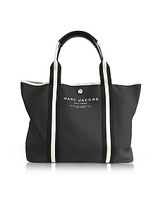 Black Canvas EW Tote - Marc Jacobs