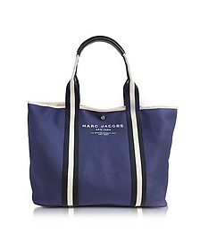Midnight Blue Canvas EW Tote - Marc Jacobs