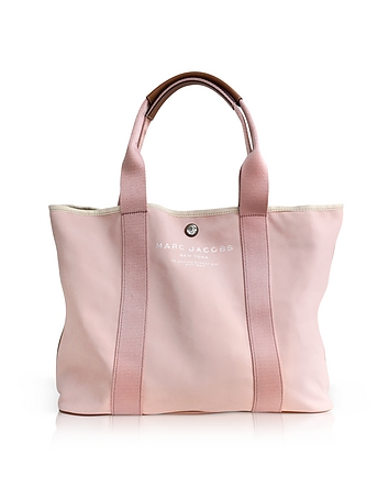 Marc Jacobs - Pale Pink Canvas EW Tote