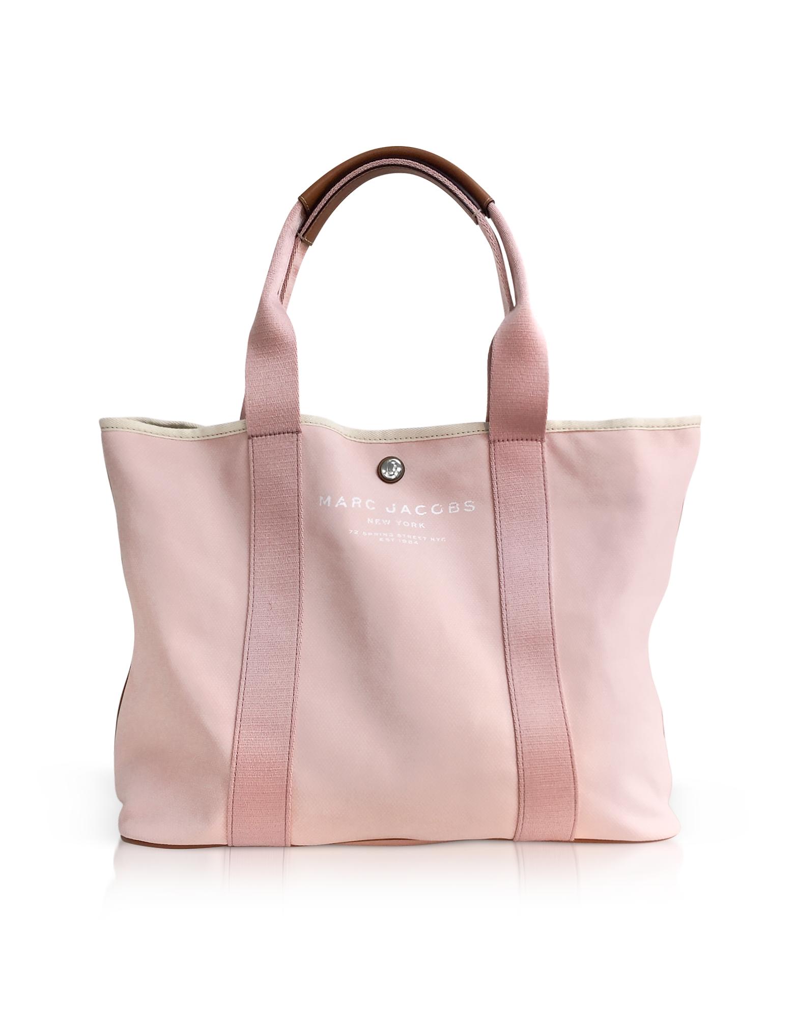 Фото Светло-Розовая Сумка Tote из Ткани. Купить с доставкой