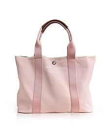 Pale Pink Canvas EW Tote - Marc Jacobs