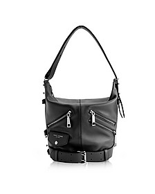 Black Leather The Sling Motorcycle Shoulder Bag - Marc Jacobs