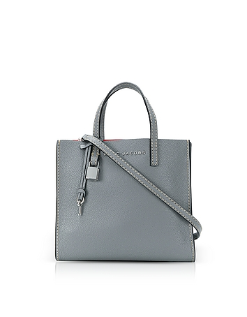 Grainy Leather The Mini Grind Tote Bag