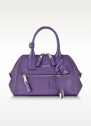 Small Textured Incognito Leather Handbag - Marc Jacobs